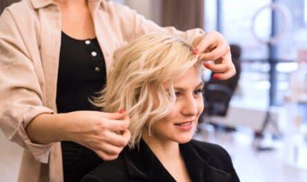 coupe de cheveux à la mode